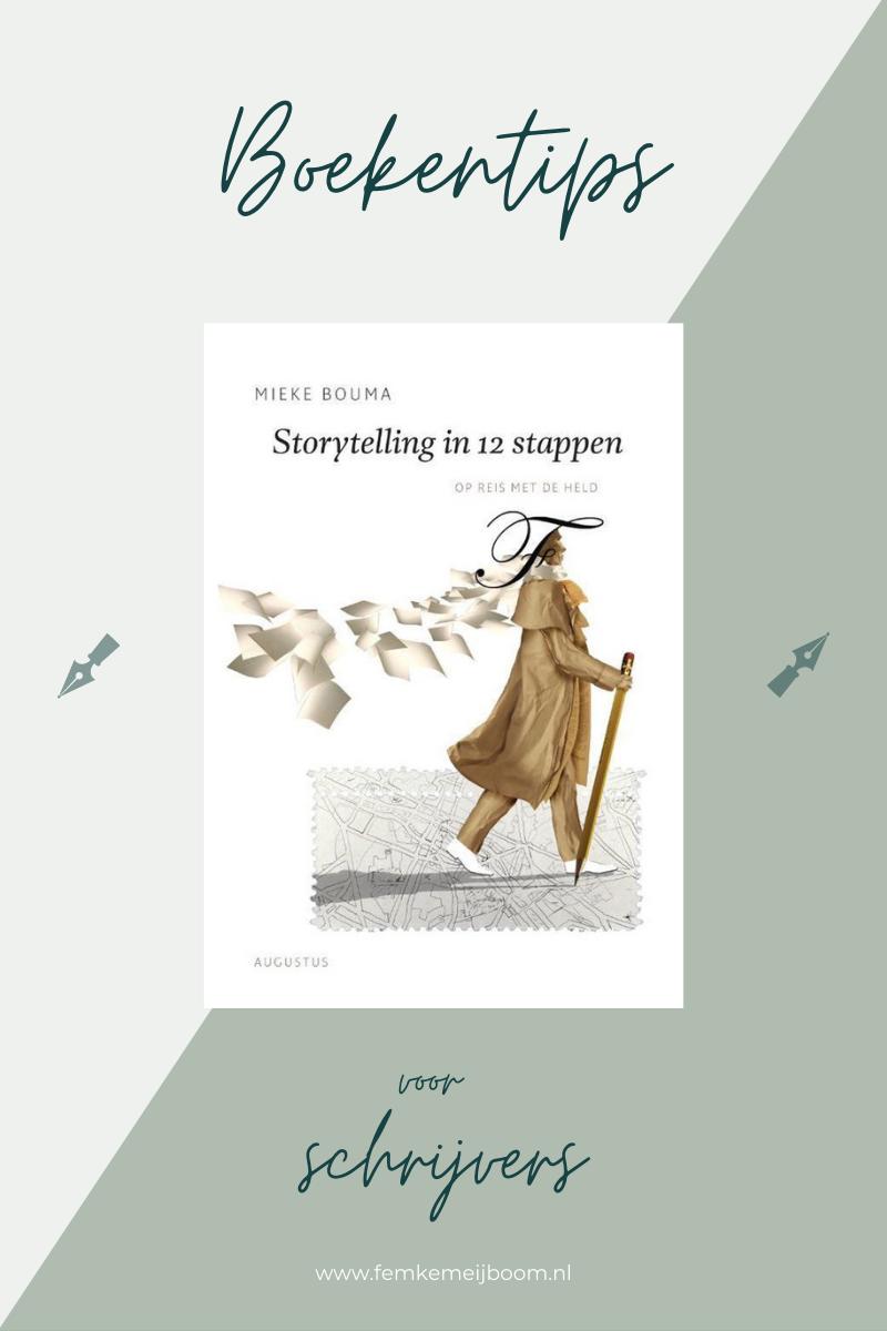 boekentip schrijver storytelling bouma